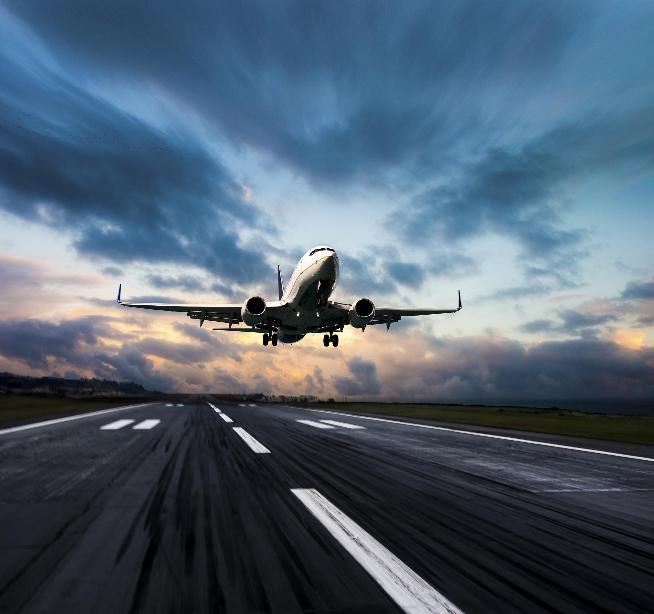 лучшие фото самолетов сзади всё